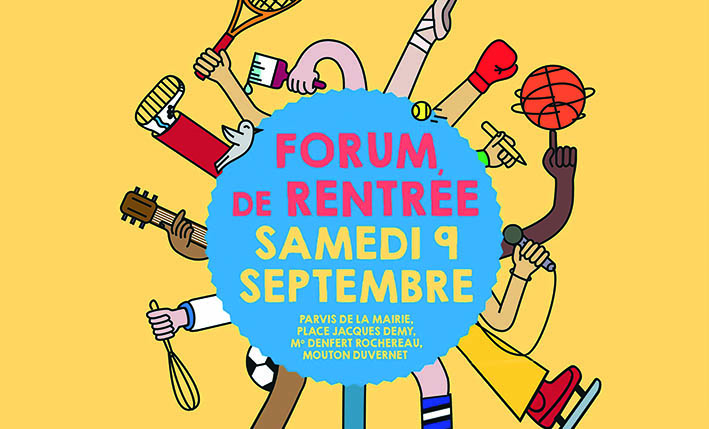 Forum de rentrée du XIVème